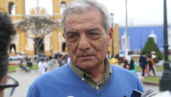 Espinoza volvió a criticar el fallo que la Primera Sala Penal de Apelaciones de Trujillo emitió en su contra y dejó sin efecto la resolución del 20 de octubre del 2016, cuando fue absuelto por tercera vez en el mismo caso. (Foto: Johnny Aurazo)