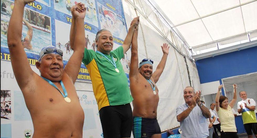 Natación y vejez saludable se juntaron en San Borja - 2