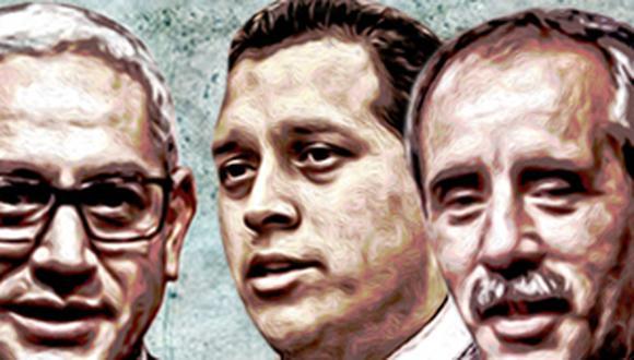 Entre los congresistas con estudios económicos o de administración se encuentran José Antonio Núñez (Partido Morado), José Luna (Podemos) y Ricardo Burga (Acción Popular) (Composición: El Comercio)