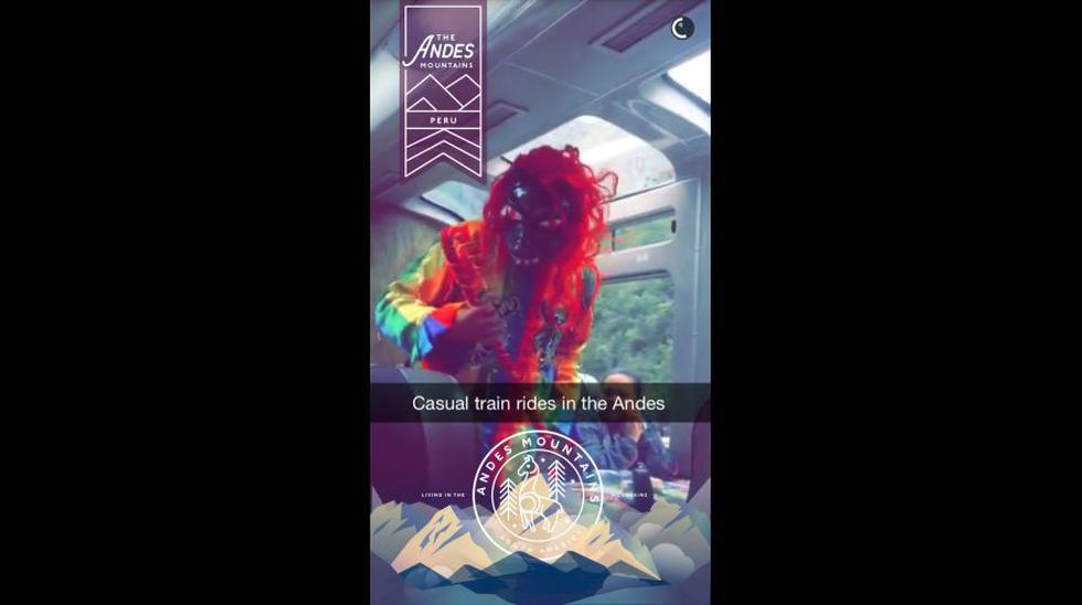 Machu Picchu entre los videos de viajeros que presentó Snapchat - 10