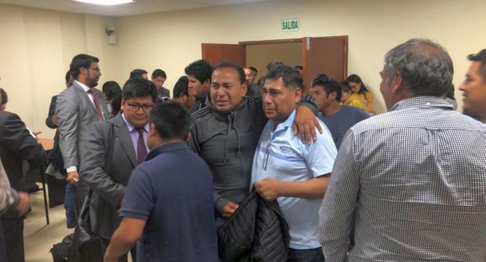"""La madrugada del miércoles 06 de noviembre se realizó un mega operativo en Arequipa para capturar a 16 presuntos integrantes de la organización criminal """"Los Correcaminos del Sur 2"""" (Foto: cortesía)"""