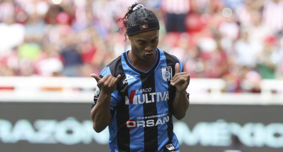 Querétaro de Ronaldinho visita al Atlas pensando en las finales