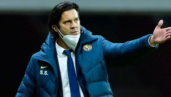 """Solari sobre empate con Cruz Azul: """"pagamos el esfuerzo de los últimos cinco partidos""""."""