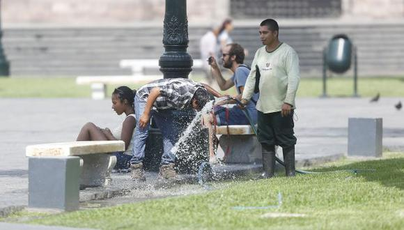 Lima registrará una sensación térmica de 34 grados en febrero