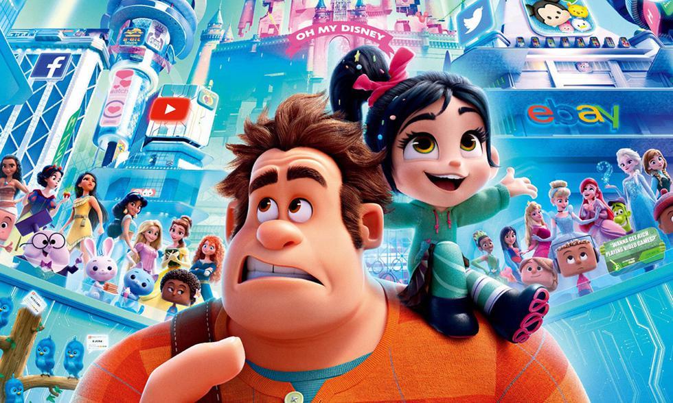 """""""Ralph Breaks the Internet: Wreck-It Ralph 2"""" se despide de Netflix el 12 de diciembre. (Foto: Disney)"""