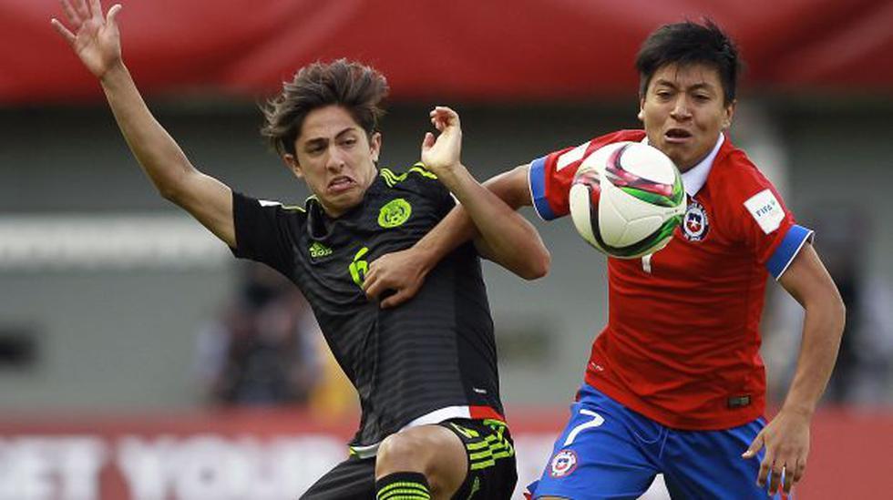 Chile eliminado y goleado en su Mundial Sub 17 por México - 1