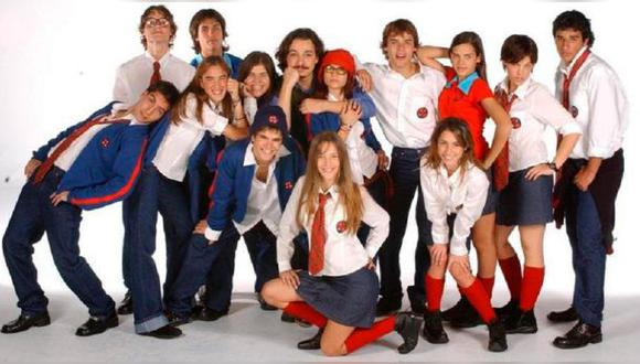 "El elenco principal de ""Rebelde Way""."