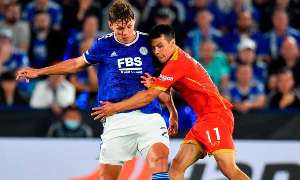 Leicester enfrenta a Napoli por la fecha 1 de la UEFA Europa League | Foto: EFE.