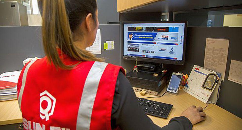 Con el nuevo sistema 'Sunafil Responde', los trabajadores podrán contactarse con expertos legales para resolver dudas sobre temas laborales. (Foto: Sunafil)<br>
