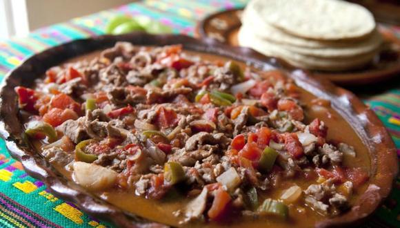 Bistec a la mexicana. (lamichoacanamm Instagram)