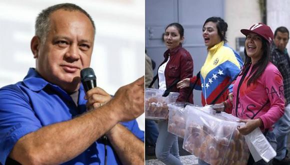 """Diosdado Cabello: """"Venezolanos emigran por moda y estatus"""". (Foto: Agencias)"""