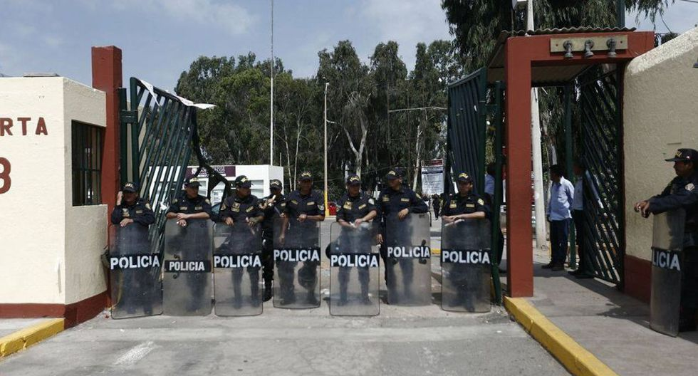 San Marcos: así quedó campus tras intervención de PNP por toma - 5