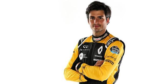 Sainz ingresó a la Fórmula 1 en el 2015. (Fotos: Difusión)