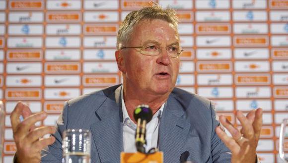 Guus Hiddink es nuevo entrenador de la selección de Holanda