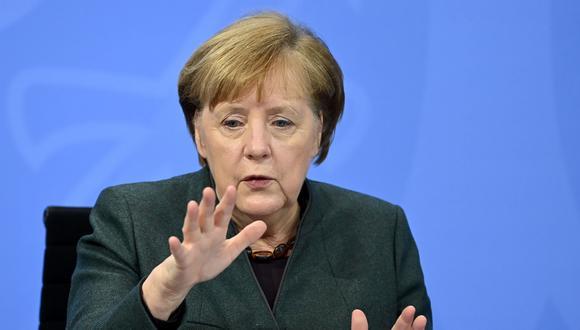 La canciller alemana Angela Merkel. EFE