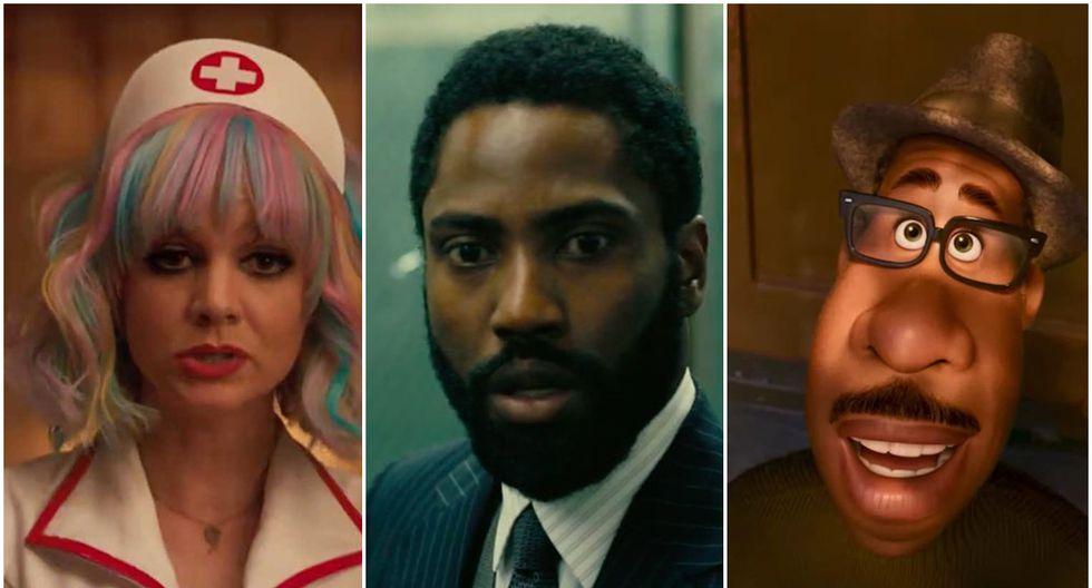 """""""Promising Young Woman"""", """"Tenet"""" y """"Soul"""" son algunas de las cintas todavía no estrenadas que muestran potencial para los Oscar. (Foto: Difusión)"""