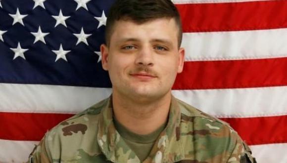 El cuerpo de Brandon Scott Rosecrans estaba a un costado de una carretera al sur de Haker Heights en Texas. (Base Militar de Fort Hood).