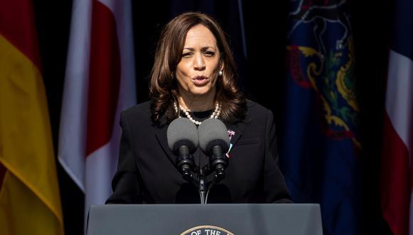 Kamala Harris, vicepresidenta de Estados Unidos. (Foto: EFE)