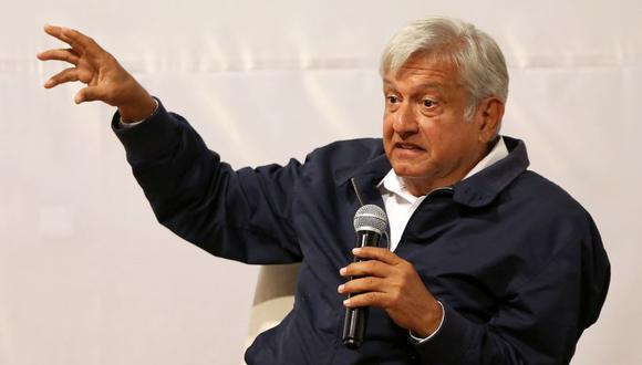 AMLO postula a la presidencia de México por el movimiento Morena. (Foto: Reuters/Gustavo Graf)