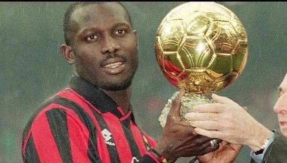 Tras varios años siendo exclusivo de Europa, el Balón de Oro también entró en su etapa de globalización en 1995 y el ganador fue precisamente un no europeo: el liberiano George Weah.