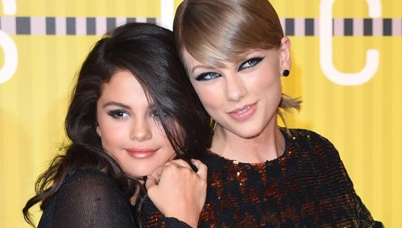 Selena Gómez y Taylor Swift se consideran mejores amigas y siempre lo han demostrado a través de las redes sociales y reuniones que van. (Foto: AFP)