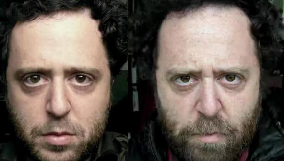 El fotógrafo retrató con fotos de sí mismo cómo se ve el paso de 20 años en la vida de una persona. (Foto: Noah Kalina en YouTube)