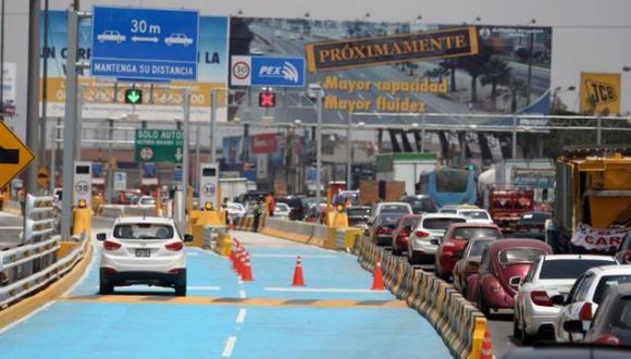 Panamericana Sur: cambiarán sentido de esta vía por Año Nuevo