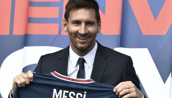 Lionel Messi fichó por PSG con un contrato de dos temporadas, con opción de una más. (Foto: AFP)