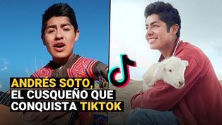 Andrés Soto, el joven cusqueño que cautiva TikTok con vídeos hechos en el campo