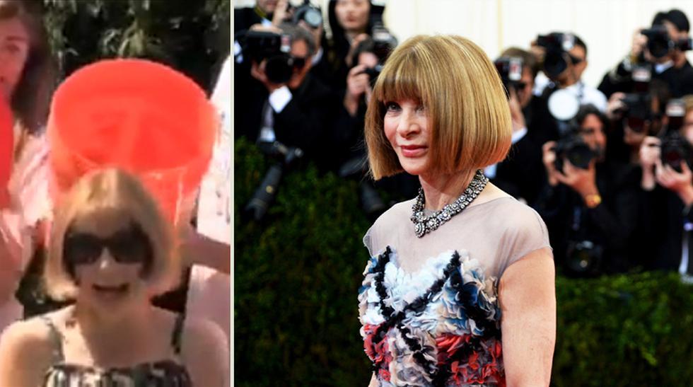 """Chapuzón """"fashion"""": La moda se suma al Ice Bucket Challenge - 1"""