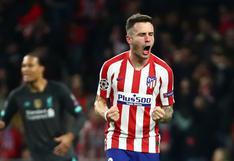 Manchester United buscará fichar a Saúl del Atlético de Madrid