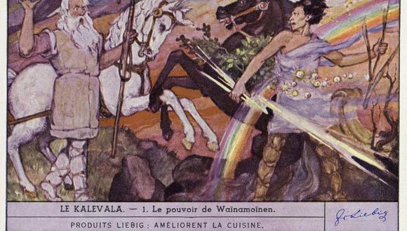Kalévala: la epopeya finlandesa basada en tradicionales canciones y poemas que narran la historia del mítico héroe  Wäinämöinen. (Photo by Culture Club/Getty Images)