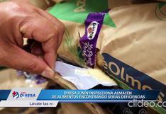 Junín: Diresa clausuró almacén donde se realizaba inadecuada manipulación de alimentos I VIDEO