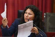Ética aprueba informe que recomienda suspender a Yesenia Ponce por 60 días
