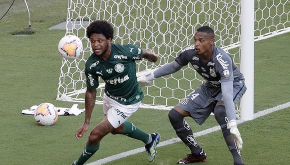Palmeiras y Santos se enfrentan en el Maracaná en la gran final de la Copa Libertadores | Foto: Reuters