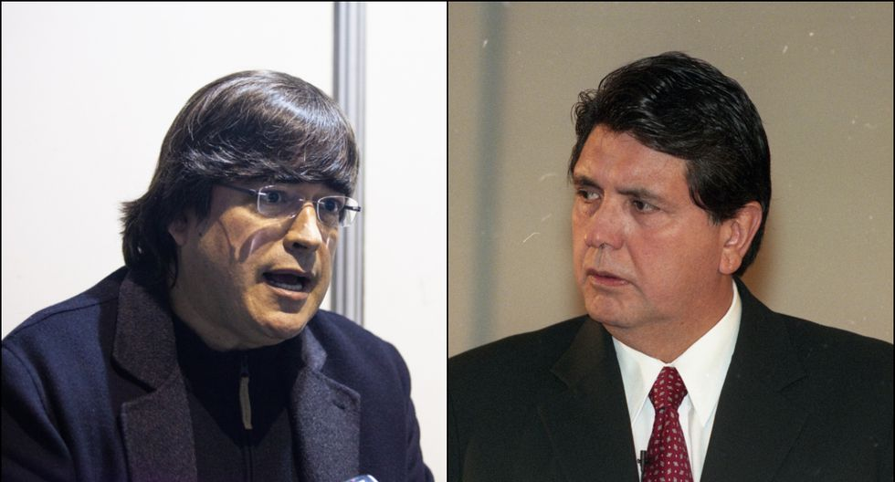 Jaime Bayly le planteó en dos ocasiones a Alan García si padecía de problemas mentales. (Foto: GEC)