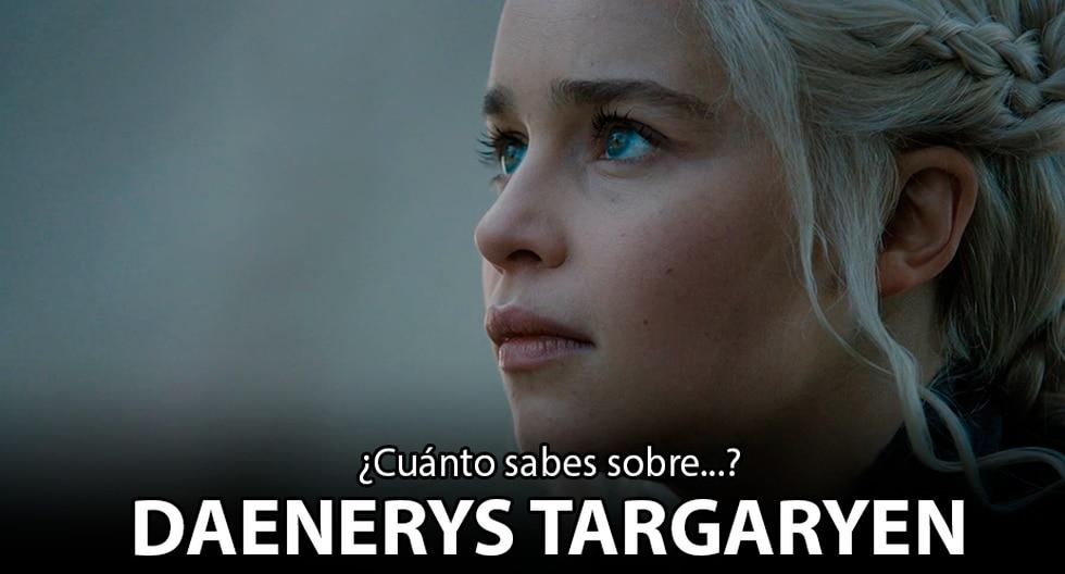 Daenerys Targaryen es representado en Game of Thrones por Emilia Clark.   HBO