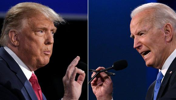 Donald Trump y Joe Biden se disputan las elecciones estadounidenses el 3 de noviembre.
