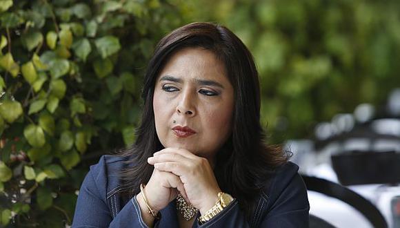 """Ana Jara: """"Me parece desproporcionada e injusta la censura"""""""