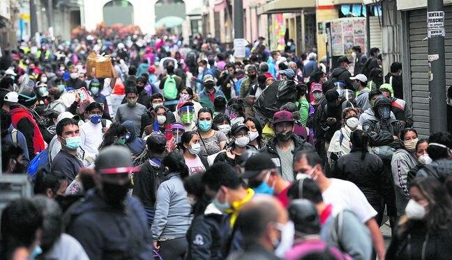 Casos de contagios por coronavirus se incrementaron en el país.  (Foto: ANTHONY NINO DE GUZMAN/GEC)