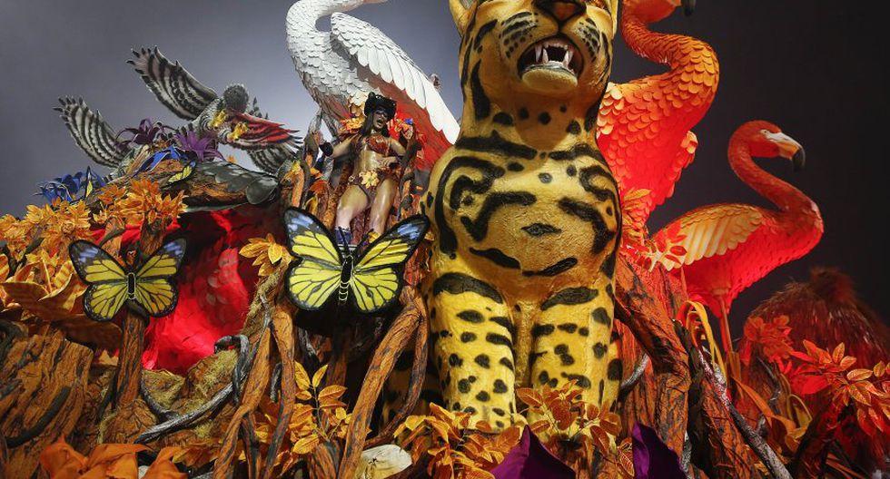 Las primeras postales del colorido carnaval de Río de Janeiro - 10
