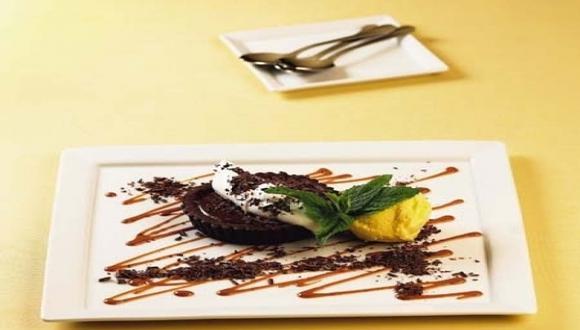 Tartita de chocolate