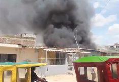Piura: incendio deja en la calle a ocho familias en distrito de Castilla | FOTOS
