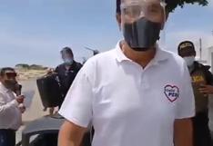 Martín Vizcarra pasó incómodo momento al ser insultado en Piura | VIDEO