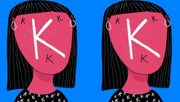 """""""La presencia de la 'k', sin embargo, se ha vuelto muy común, especialmente en la política, la publicidad y el mercadeo"""". (Ilustración: Giovanni Tazza)"""