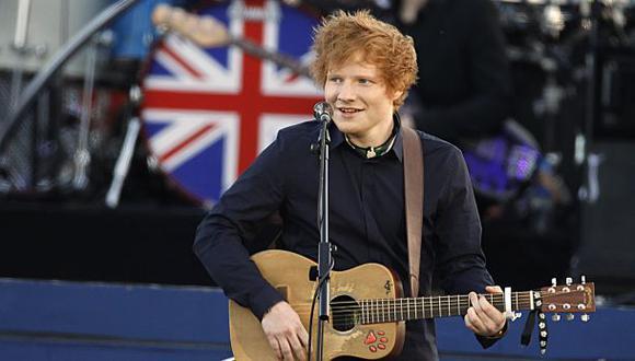Ed Sheeran compartió fotografía con su novia en Cusco