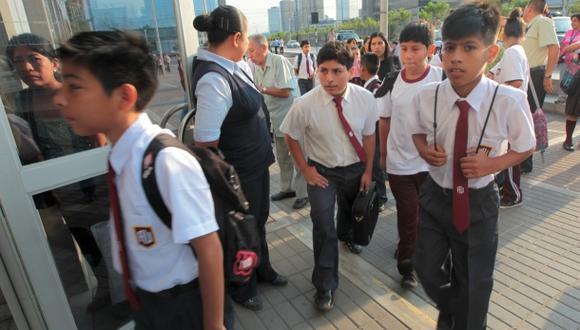 En mil colegios las clases durarán hasta las 3:30 p.m.
