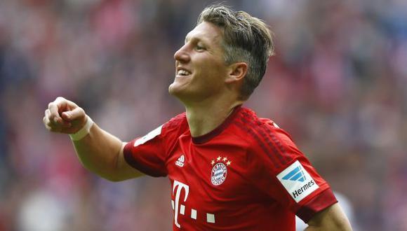 Schweinsteiger fichó por el Manchester United