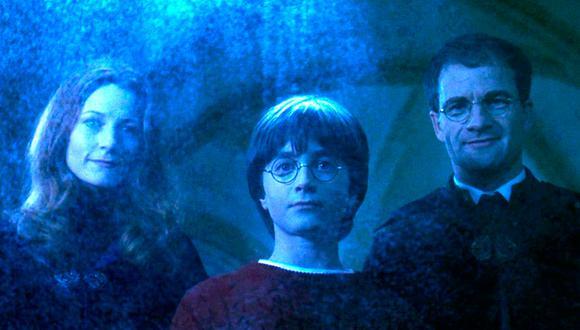 Los padres de Harry Potter murieron a temprana edad, pero los productores de las películas decisieron mostrarlos de mayor edad (Foto: Warner Bros.)