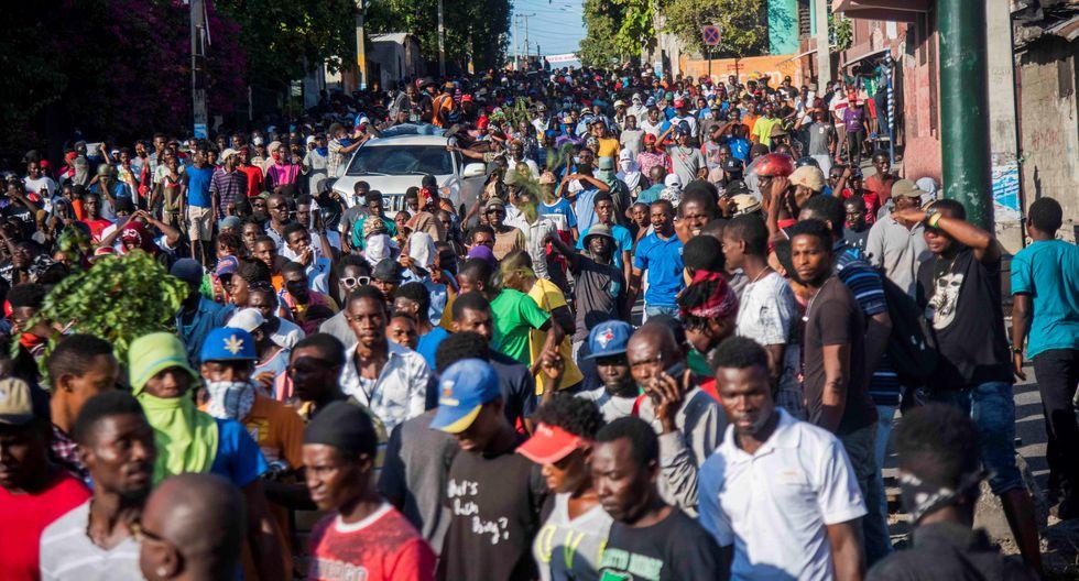 Haití atraviesa una profunda crisis económica y política, agravada tras las masivas y violentas protestas de dos semanas que iniciaron el pasado 7 de febrero. (Foto: EFE)